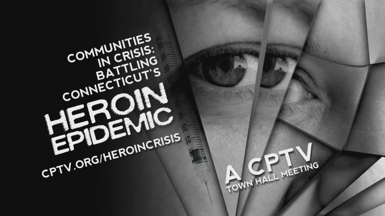 Heroin Town Hall Open Graphic