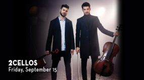 Enter to Win Tickets for 2CELLOS at the Toyota Oakdale Theatre