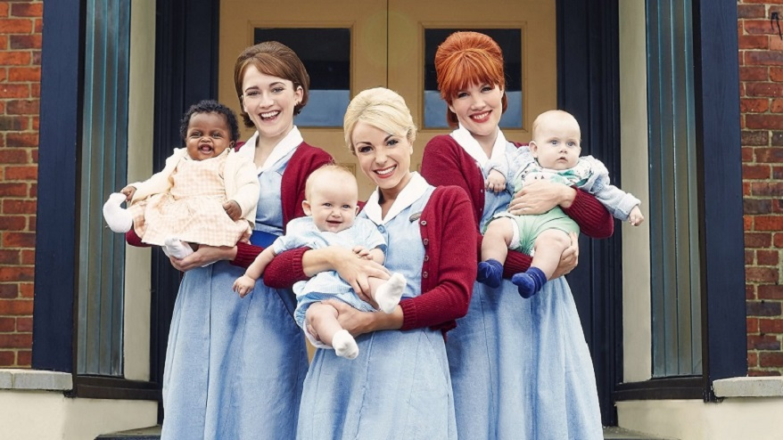 Call the Midwife_Series 6_iconics_EMBARGOED UNTIL 00.01 Hours on 17th January 2017