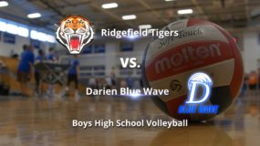 Boys High School Volleyball: Darien 3, Ridgefield 2