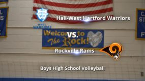 Boys High School Volleyball: Rockville 3, Hall-West Hartford 0