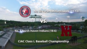 CIAC Class L Baseball Championship: Foran (Milford) 8, North Haven 2