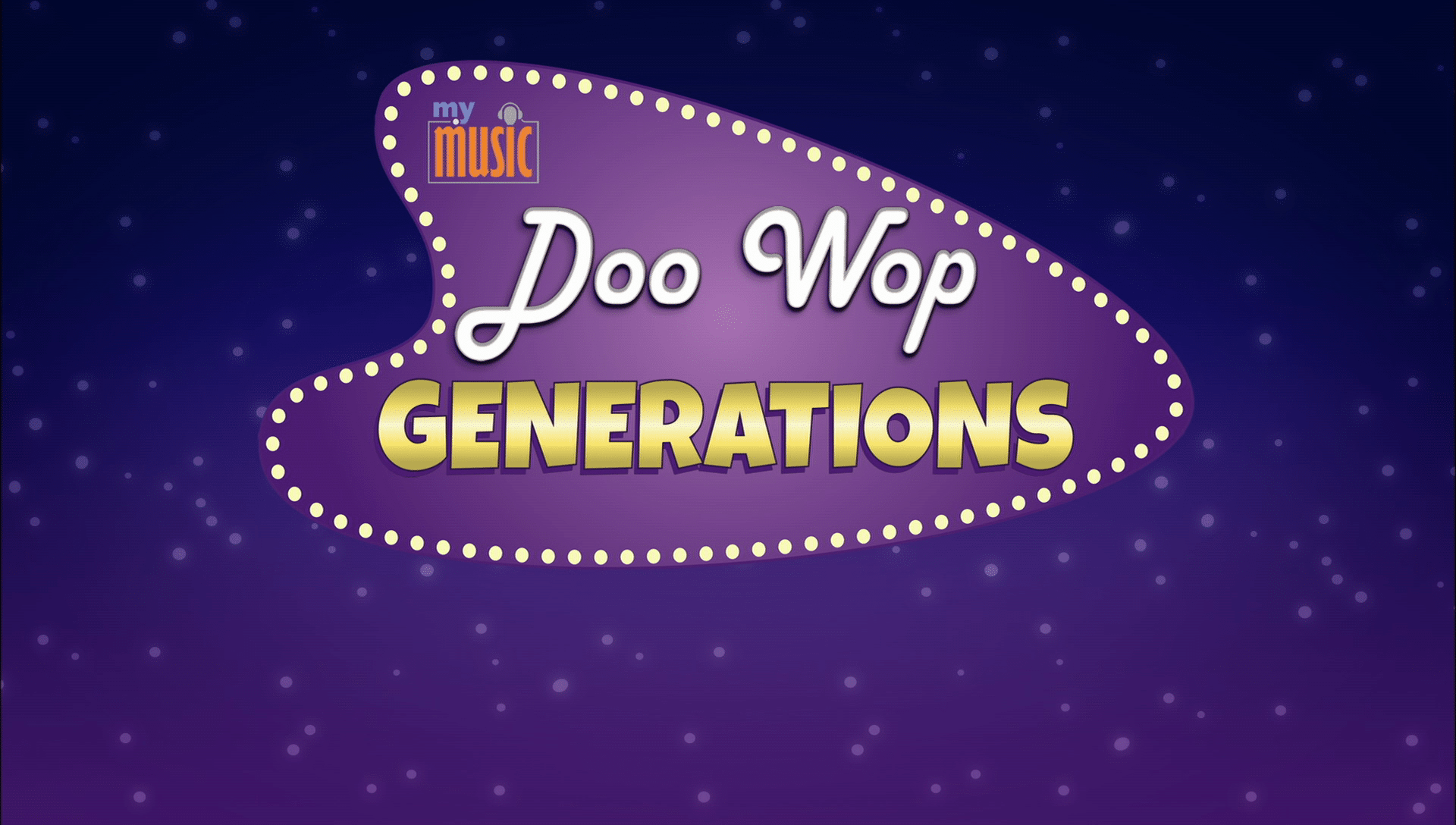 doo wop generations my music connecticut public television. Black Bedroom Furniture Sets. Home Design Ideas